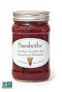 Sarabeth's Fruit Spread-Strawberry Rhubarb, 1.17 Pound