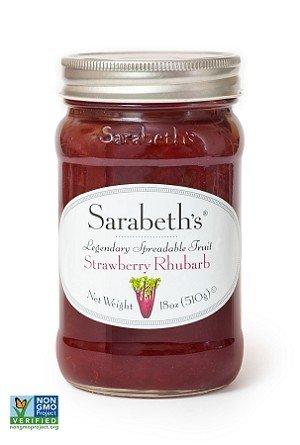 Sarabeth's Fruit Spread-Strawberry Rhubarb, 1.17 Pound