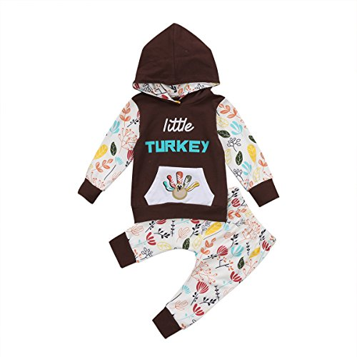Girls Striped Hoodie - Newborn Baby Boy Girls Long Sleeve Hoodie Tops Pants Clothes Set (18-24 Months, Gray)