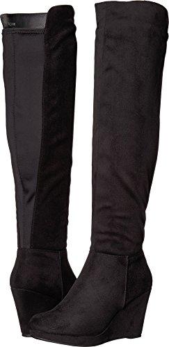 Chinese Laundry Women's Lulu Black Microsuede 8.5 M - Black Lulu