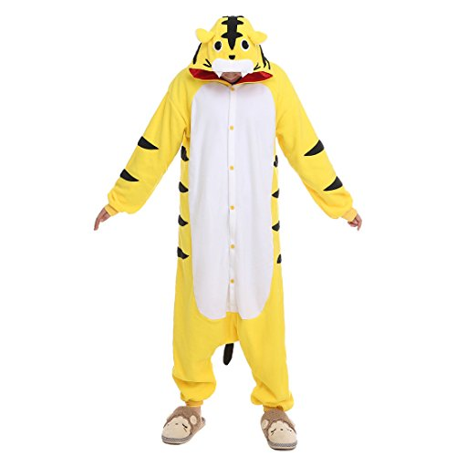 NEWCOSPLAY Sleepsuit Pajamas Homewear OnePiece Cosplay Costume Lounge Wear (XL-for Height 71