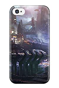 New Snap-on Jeremy Myron Cervantes Skin Case Cover Compatible With Iphone 4/4s- Vehicle Sci Fi
