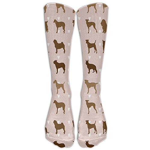 Pug Dog Party Show Men & Women Athletic Socks Running Socks Fit To SIZE 6-10