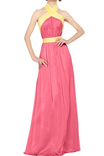 Missdressy - Vestido - plisado - para mujer Wassermelone