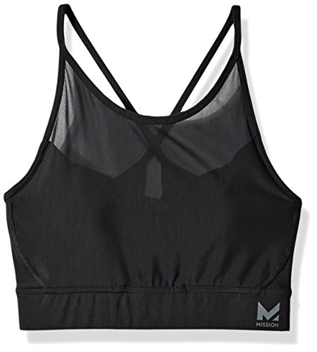 Mission Women's VaporActive Sensory Cross Back Medium Impact Sports Bra