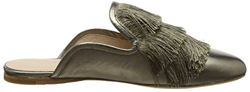 Flat Femme Fringe 718 Chaussons Or Mules Rachel Kaius Gold Zoe old YwxfnCE