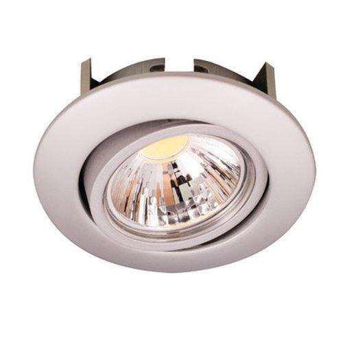 Nobilé Downlight A 5068 T Flat, 8 W, 38 Grad, chrom-matt warmweiß NO-1856690123