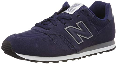 New Balance Men's 373 Suede Trainers, Blue, 9 US (373 New Balance)
