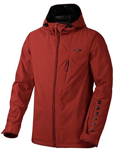 Oakley Men's Cresent BZS Jacket, Large, Fired Brick