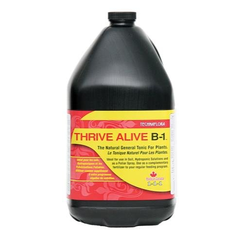 Technaflora Thrive Alive B-1 Fertilizers, 4 L, Red by Technaflora