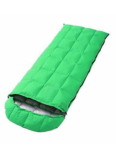 Schlafsack Rechteckiger Schlafsack Einzelbett(150 x 200 cm) -5--15 Enten Qualitätsdaune 1500g 180cmX73cmCamping / Reisen / Outdoor /