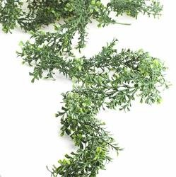 Factory Direct Craft Artificial Green Boxwood Garland - 9...