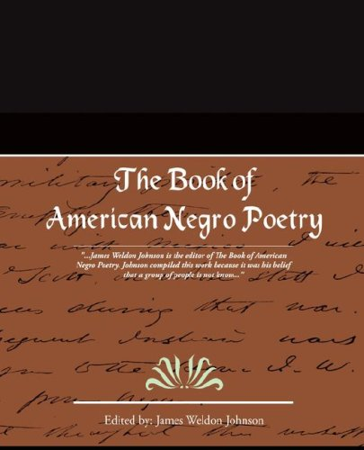 Search : The Book of American Negro Poetry