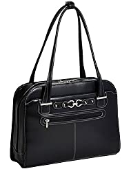 McKleinUSA MAYFAIR  96305C Black Ladies Laptop Case