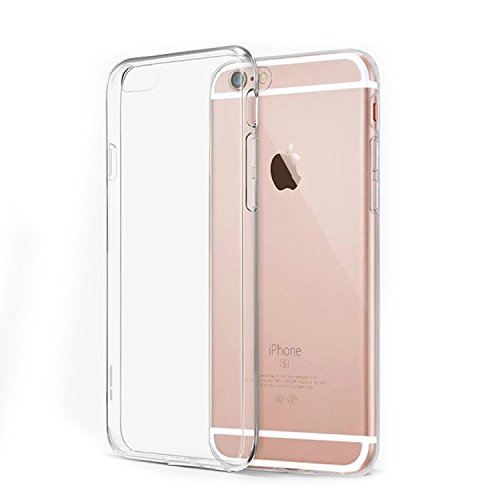 KAGGA iPhone 6 Plus Case, Soft TPU Cover Case Shock-Absorption Bumper and Anti-Scratch Clear Back for iPhone 6s Plus and iPhone 6 Plus 5.5