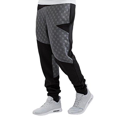 Dangerous DNGRS Hombres Pantalones / Pantalón deportivo Small Symbols negro