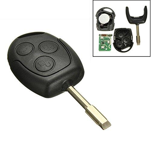 2 opinioni per KaTur Chiave con telecomando, con tre pulsanti, 1 pezzo, 433MHZ, per Ford
