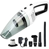 Handheld Cordless Vacuum Cleaner, BOLWEO DC 12V Portable Car Vacuum Cleaner for Car and Home with Strong Suction High Power, Small Dust Buster for Wet Dry Use