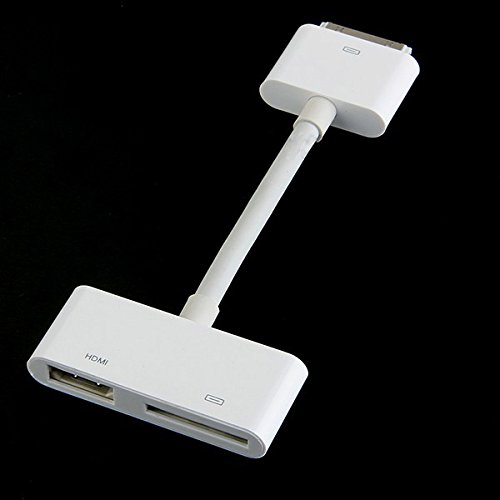 Connectors Av Accessories - DigitCont Connector2 AV Adapter 30-Pin Dock Connector to HDMI Convertor for Apple iPhone 4/4s, iPad 2/3 and iPod Touch