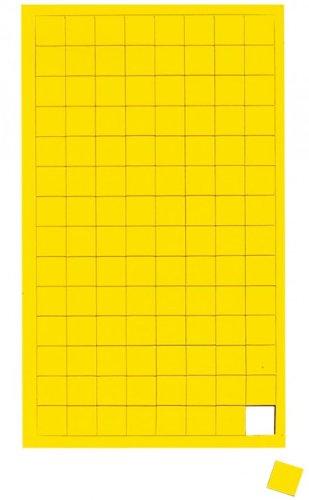 Gr/ün Gr/ün Magnetsymbole Quadrat Whiteboard Magnet f/ür Planungstafel