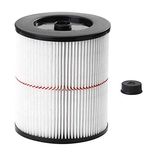 for Craftsman Shop Vac Filter 9-17816 & 17816, Wet Dry General Purpose Red Stripe Vac Cartridge Filter, Fits 5 Gallon and Larger Vacuum Cleaner ()