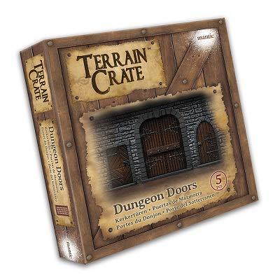 DUNGEON DOORS - TERRAIN CRATE - MANTIC GAMES