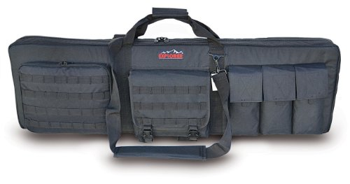 EXPLORER Large 3 Gun Soft Carry Case with Shooting Mat - Holds up to 42 Inch Rifle (42 inch)
