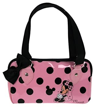 Disney Minnie Mouse Handbag (Pink Black)  ACHARACTERSHOP  Amazon.co.uk   Luggage 011268c1582dc