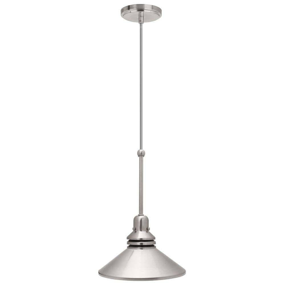 Track Lighting Pendant Fixture Brushed Nickel X Track