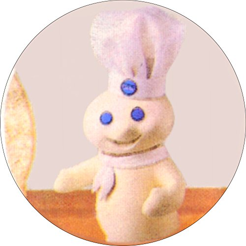 Pillsbury Doughboy - Poppin Fresh - 1.25