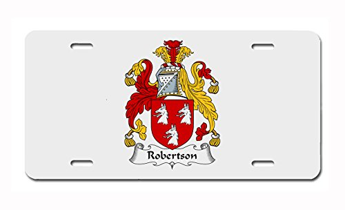(Robertson Coat of Arms/Robertson Family Crest License Plate)