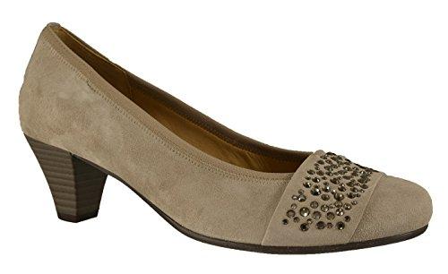 Femme Taupe 25482 Gabor Ville Chaussures De gxCw46qO1