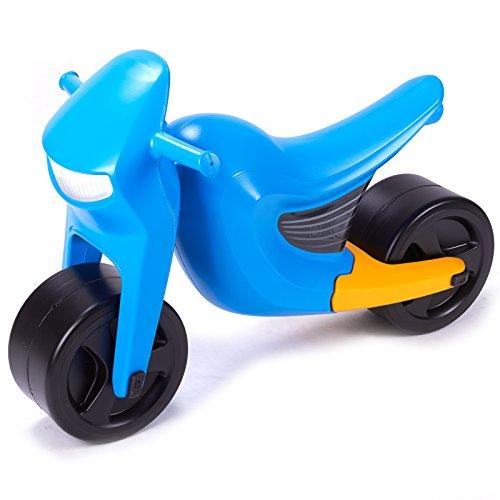 Speedee Kindermotorrad Laufrad Kinderroller Spielzeug Fahrzeug Robust Kunststoff (Blau)