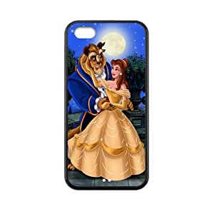Custom Beauty And Beast Back Cover Case for iphone 4/4s iphone 4/4s JNipad iphone 4/4s-531