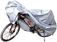 Bicycle Cover for 1 Bike Outdoor Waterproof Bicycle Covers Rain Sun UV Dust Wind Proof for Mountain Road Elect