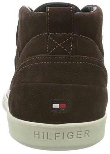 Tommy Hilfiger F2285oster 3n, Sneaker Basse Uomo Marrone (Braun (Coffeebean 212))