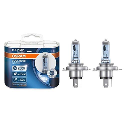Osram H4 12V 60/55W 4200K 64193CBI Cool Blue Intense Hi/lo Beam Headlight 2X
