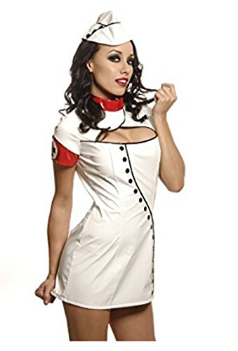 2pc. Sexy Nurse Costume (Holloween Costumes Greaser)