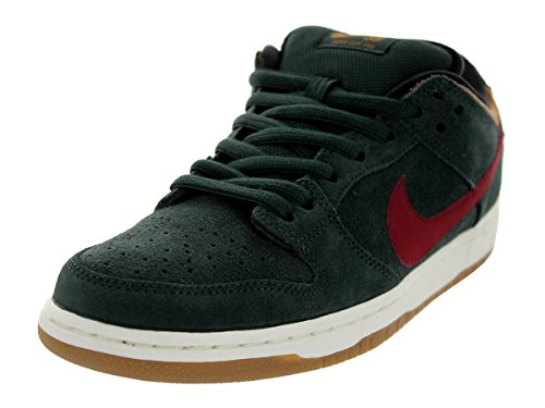 Sneakers Ale PREMIUM Nike LOW Brown Spruce SB DUNK Black Mens Red Team AWvXvgq