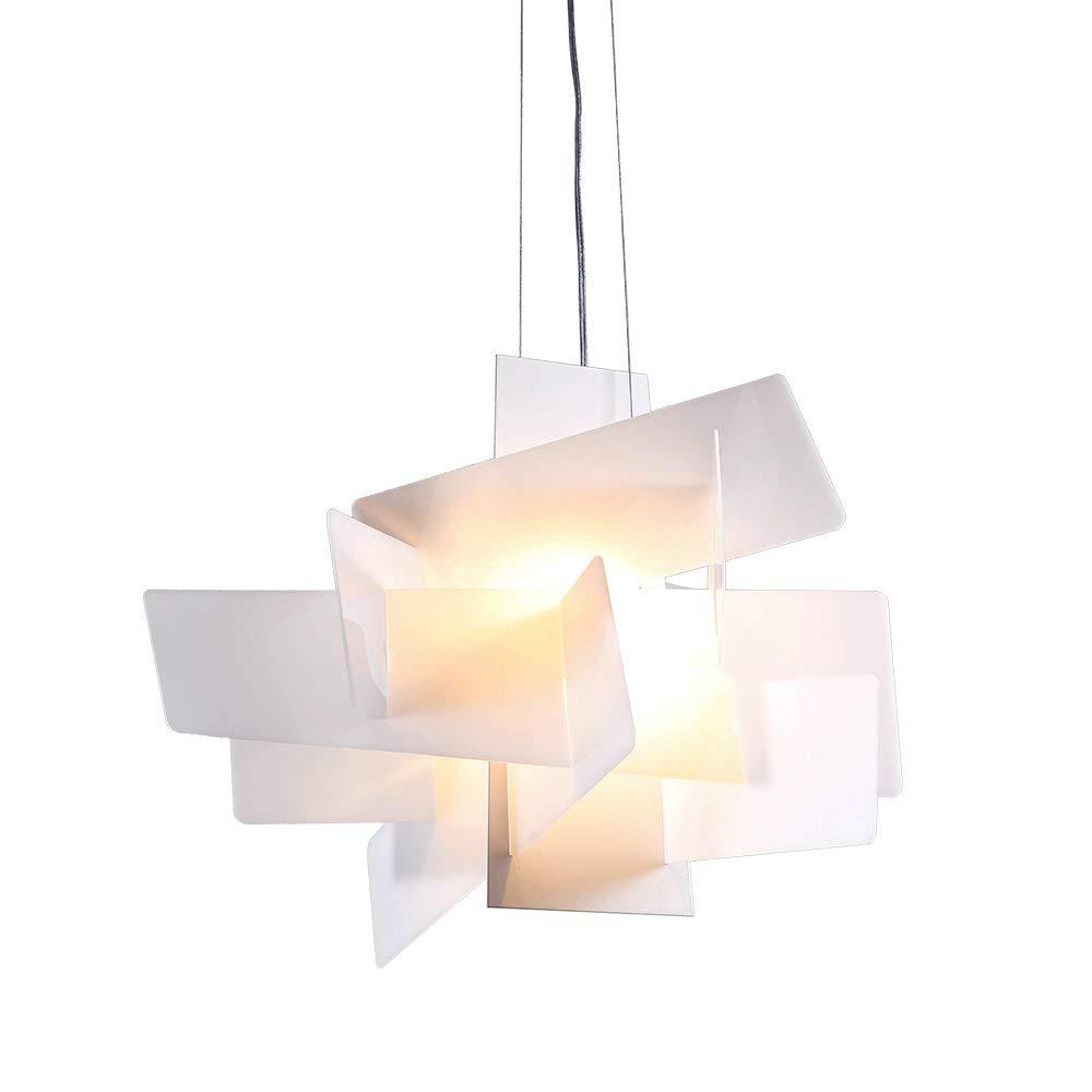 HomeLava Pendelleuchte Stilvoller Kronleuchter Modern für Büro, Weiß(Größe Weiß(Größe Weiß(Größe S) 0be950