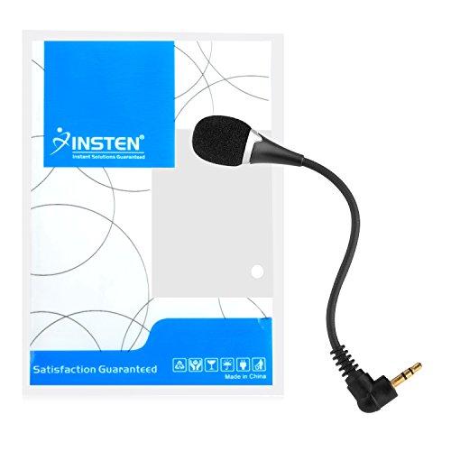 Insten VOIP / SKYPE Mini Flexible Microphone For VOIP / SKYPE - Black