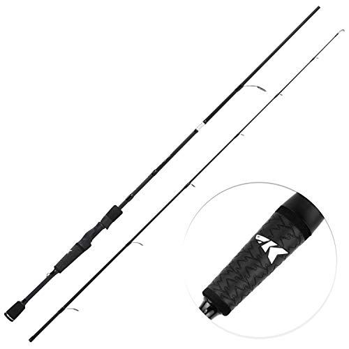 KastKing Crixus Fishing Rods, Spinning Rod 7ft -Medium - Fast-2pcs (Best Spinning Rod Under $50)