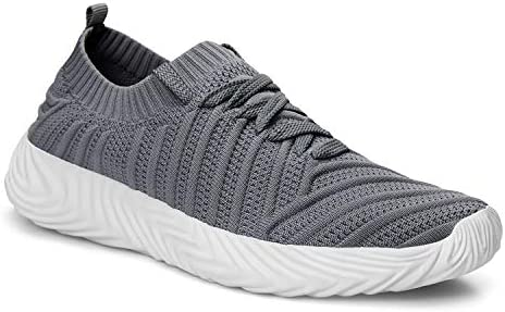 ZOCAVIA Men's Sneakers Ligthweight Non Slip Breathable Mesh Casual Walking Workout Running Shoes 4