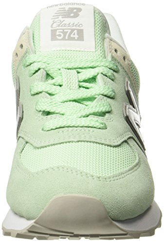 Scarpa Donna lime Balance New Da Multicolore 574v2 Tennis q7ZEC4x