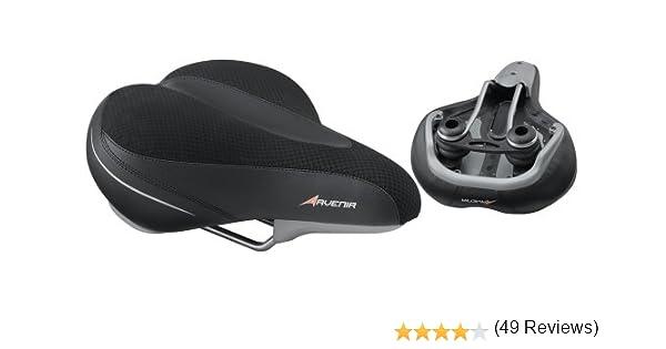 Avenir Men S Comfy Soft Top Saddle Black Bike