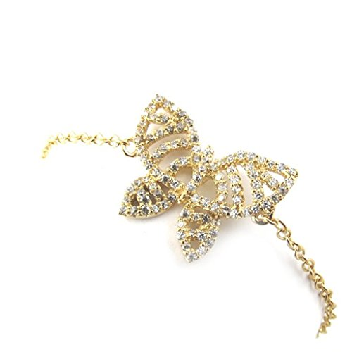 Lumiere Costumes (Bangle gold 'Papillon Lumiere' golden white.)