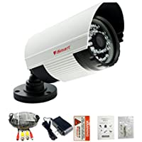 iSmart 700TVL Color Heavy Duty Surveillance CCTV Camera Security System Kit with 60ft extension cable 12v power supply, 3.6mm Lens, C1006DP7