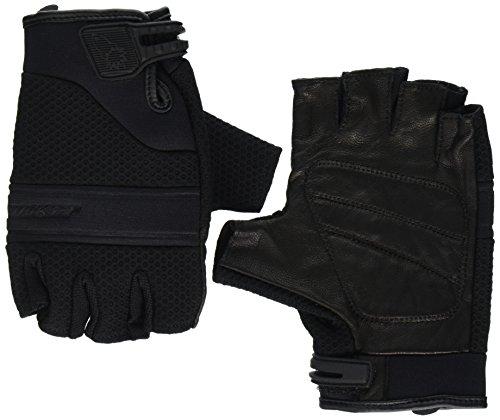 Glove Rocket Mesh Joe Black (Joe Rocket Vento Men's Fingerless Motorcycle Riding Gloves (Black, X-Large))
