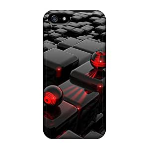 High Quality Hard Phone Cover For Apple Iphone 5/5s (iJv798apWM) Customized HD 3d Series