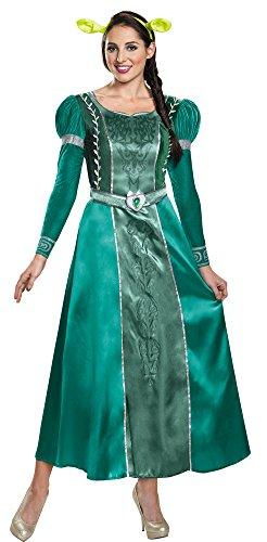 Deluxe Adult Fiona Costumes (Womens Halloween Costume- Fiona Deluxe Adult Costume Medium 8-10)
